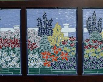 Spring Hill Garden Mosaic Artwork