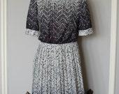 Vintage 1980s OCEAN SPRAY dress