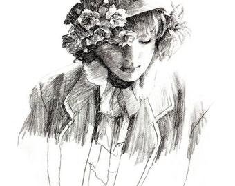 Karen - original drawing