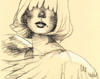 g i r l s 05 - original drawing