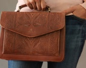 ON SALE 20% OFF: Bellerose Leather Vintage Handbag