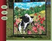 Out to Pasture landscape quilt pattern