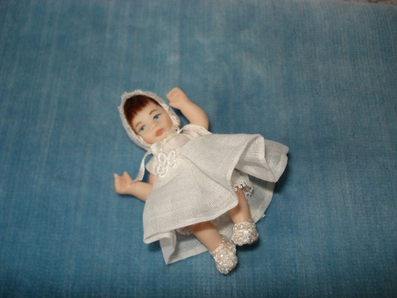 Miniature Porcelain Baby Girl - Betsy