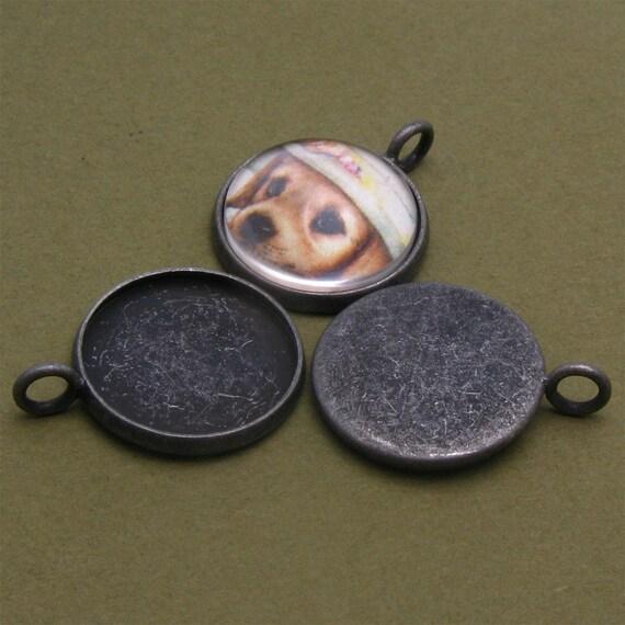 10pcs 16mm glass---Round