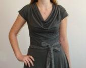 Grey Feminine Alice Dress - Alice in Wonderland Dress - Size XS - Casual Dress - Everyday Dress - Wonderland Dress - Woman Dress