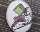 Mad Hatter big brooch (from Alice in Wonderland)