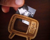 Retro TV Brooch (Photo Brooch)