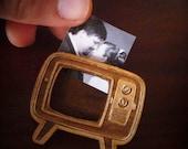 Retro TV Brooch (Photo Brooch)