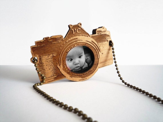 Chunky Old Camera (Photo necklace)