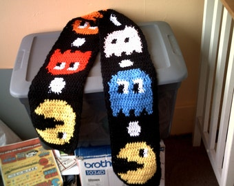 Pac Man Scarf -made to order slot