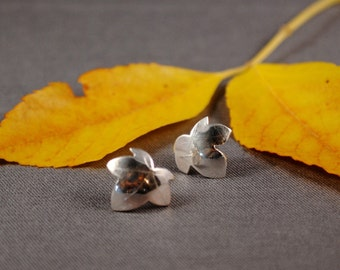 Ivy Leaf Post Earrings