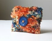 Glorious Glimmer Hand-knit Jewellery/Makeup Pouch