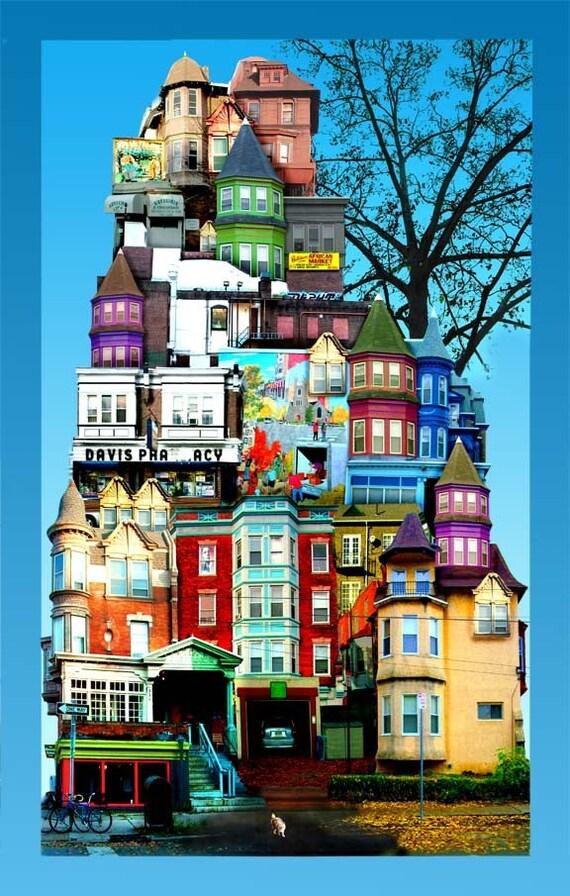 West Philadelphia Photo Collage
