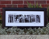 Frame your LAST name sign -  A Perfect Housewarming Gift for a new homeowner