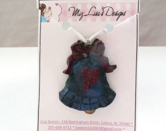 Blue Bell Holiday Necklace