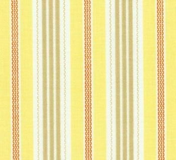 Joel Dewberry Aviary Collection Broad Stripe In Yellow