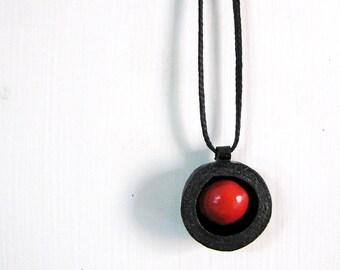 Manjadikuru Seed Necklace - Boho jewelry - Indian necklace - Tribal jewelry - Seed jewelry - Tribal necklace - Boho necklace