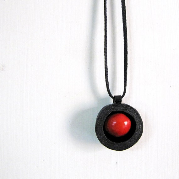 Manjadikuru Necklace - Boho jewelry - Seed necklace - Indian necklace - Tribal jewelry - Seed jewelry - Tribal necklace - Boho necklace