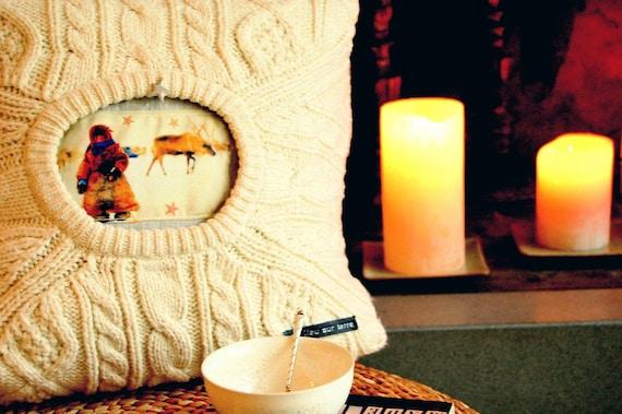 Decorative pillow : The snow child