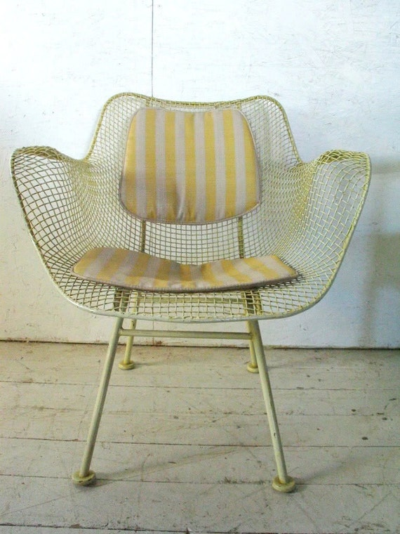 Russell Woodard Sculptura Patio Chair Mid Century Modern
