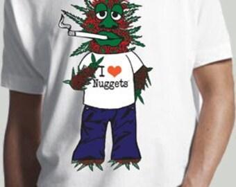 Original Mr. Nugget Men's  /  Unisex Organic T-Shirt
