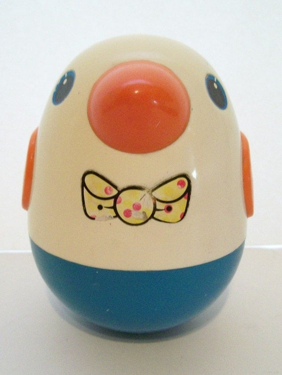 Playskool Weeble Wobble Roly Poly Bird Chime