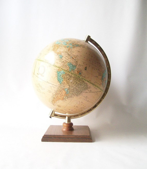 Globe crams imperial vintage world globe family home decor for Imperial home decor