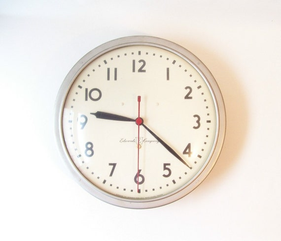 vintage wall clock industrial large wall clock round school clock office chic decor modern style trends