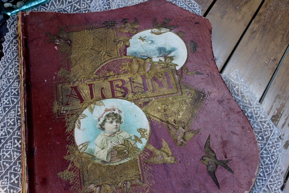Victorian Scrapbook, Reserved for Cheryl