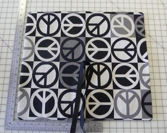 Peace Sign Knitting Needle Wallet Organizer