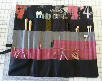 American Gothic Knitting Needle Wallet