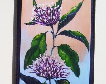 Starburst Plant Magnet Miniature Art