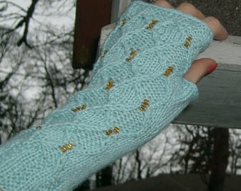 Lockets,fingerless gloves,Pattern only,PDF,size S-L