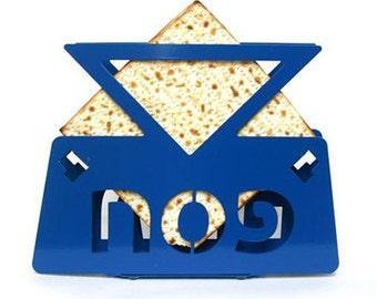 Matzos Holder - Star of David - Jewish Passover matzah holder - SALE
