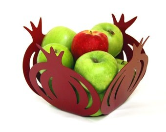 Pomegranate Bowl - Judaica Designed and made in ISRAEL