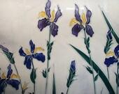 Une promenade dans le jardin, printemps, bateau, pièce florale, grand affichage