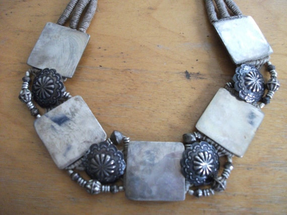 Vintage MUMMY BUNDLE Unique Wearable Art Collar
