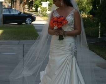 Cathedral length veil - Chelsea