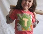 alpha tee in POMEGRANATE \/ infants . kids