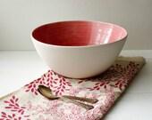 Sale Strawberry Pink Salad Bowl