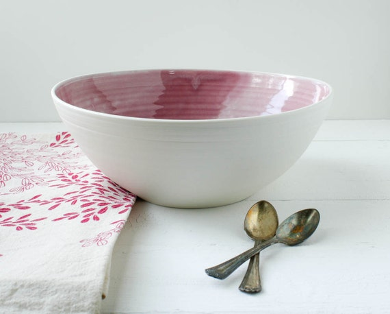 Mulberry Porcelain Serving Bowl