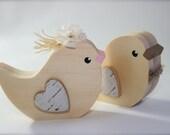 Birch RESERVED RESERVED Cake Topper Birds Woodland Wedding