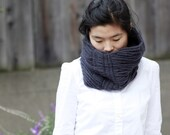 RESERVED for ELKE: Wound Wool Neck Gaiter/Cowl