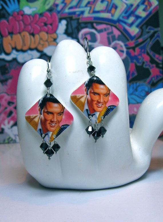 Elvis Presley Dangle Earrings