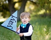 CUSTOM Wedding Flag- ring bearer or flower girl sign