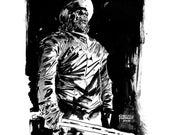 Zombie Conquistador Sketch