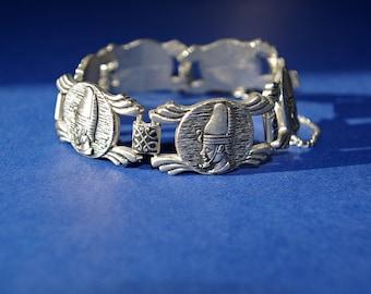 1940s Egyptian Revival pharoah bracelet