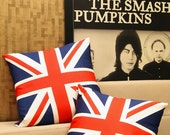 """set of two-Union Flag Cushion / Pillow Cover-16"""" (40cm)"""