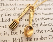 Spoon and Fork Necklace