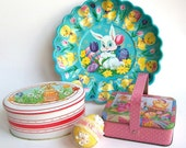 Vintage Easter Decor Candy Tins Instant Collection